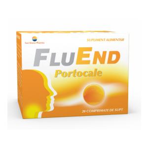 FLUEND PORTOCALE 20 comprimate de supt, Sun Wave Pharma