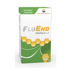 FLUEND PROPOLIS + C 36 capsule, Sun Wave Pharma