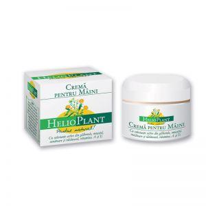 CREMA PENTRU MAINI - HELIOPLANT, 100 ml, Aliphia