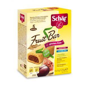 BISCUITI CROCANTI CU SMOCHINE SI PRUNE FARA GLUTEN - FRUIT BAR 125 g, Dr. Schar
