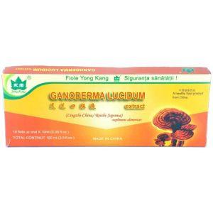 GANODERMA LUCIDUM, 10 fiole buvabile a 10 ml, Yong Kang