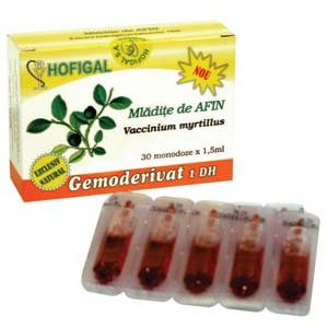 GEMODERIVAT DIN MLADITE DE AFIN, 30 monodoze, Hofigal