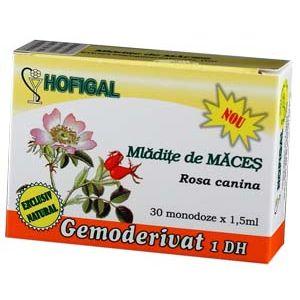 GEMODERIVAT DIN MLADITE DE MACES, 30 monodoze, Hofigal