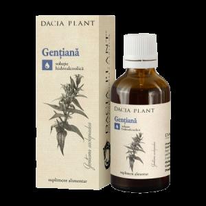 GENTIANA, Tinctura 50 ml, Dacia Plant