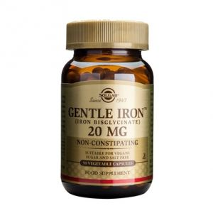 GENTLE IRON 20 mg, 90 capsule, Solgar