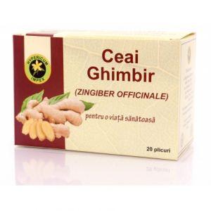 GHIMBIR, Ceai 20 plicuri, Hypericum Impex