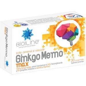 GINKGO MEMO MAX 30 comprimate, Ac Helcor