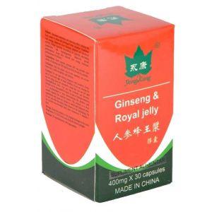 GINSENG & ROYAL JELLY (LAPTISOR DE MATCA), 30 capsule, Yong Kang