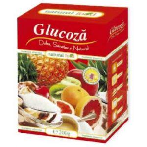 GLUCOZA CRISTALIZATA 200 g. Hipocrate
