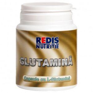 GLUTAMINA 500 mg, 120 capsule, Redis