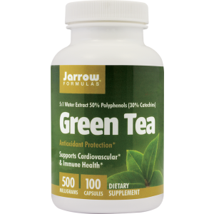 GREEN TEA (CEAI VERDE) 500 mg, 100 capsule, Jarrow Formulas