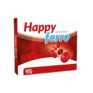 HAPPY FERRO 21 capsule, Fiterman Pharma