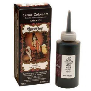 CREMA COLORANTA Negru 90 ml, Henne Color