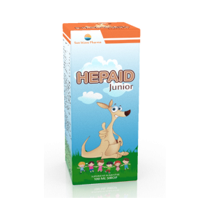 HEPAID JUNIOR SIROP 100 ml, Sun Wave Pharma