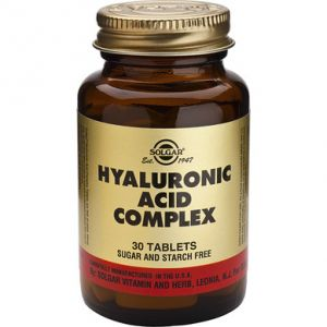 HYALURONIC ACID COMPLEX 120 mg, 30 tablete, Solgar