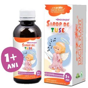 TUSE - INGERASUL, Sirop 200 ml, Dacia Plant