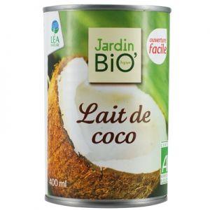 LAPTE DE COCOS BIO 400 ml, Jardin Bio