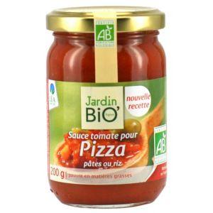 SOS ROSII PENTRU PIZZA, PASTE, OREZ BIO 200 g, Jardin Bio