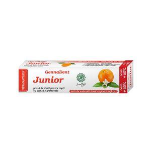 GENNADENT JUNIOR CU PORTOCALA - Pasta de dinti, 80 ml, Vivanatura