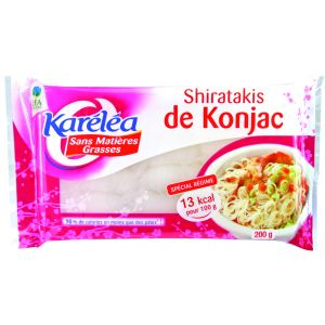 PASTE SHIRATAKIS DE KONJAC 310 g, Karelea