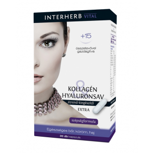 COLAGEN & ACID HIALURONIC EXTRA BEAUTY 30 capsule, Interherb