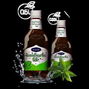 KOMBUCHA LIFE CU ARONIA 500 ml