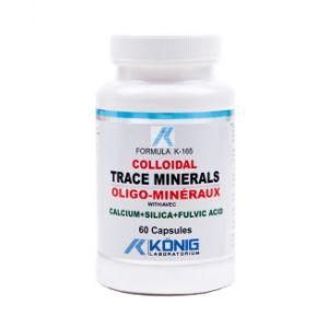 COLOIDAL TRACE MINERALS, 60 capsule, Konig Laboratorium