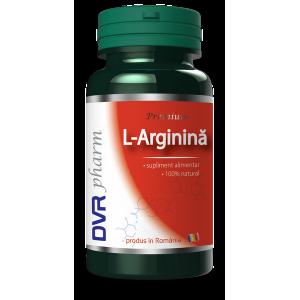L-ARGININA 400 mg, 60 capsule, DVR Pharm