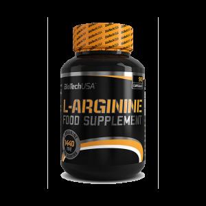 L-ARGININE 90 capsule, Biotech Nutrition