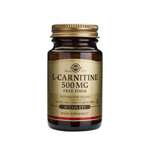 L-CARNITINE 500 mg, 30 tablete, Solgar