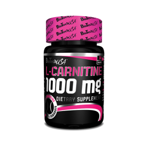 L-CARNITINE 1000 MG, 30/60 tablete, Biotech Nutrition