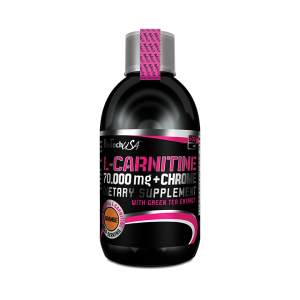 L-CARNITINE 70.000 + CHROME, 500 ml, Biotech Nutrition