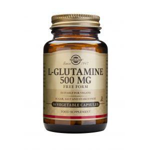 L-GLUTAMINE 500 mg, 50 capsule, Solgar