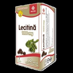 LECITINA 1200 mg, 30 capsule, Ac Helcor