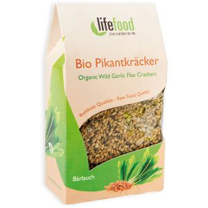 CRACKERS CU LEURDA RAW BIO 90 g, Lifefood