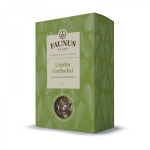 LIMBA CERBULUI, Ceai 50 g. Faunus Plant