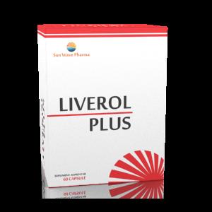 LIVEROL PLUS 60 capsule, Sun Wave Pharma