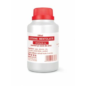 LOȚIUNE MENTOLATA 100 ml, Tis Farmaceutic