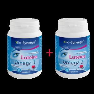 LUTEINA OMEGA 3, 30 capsule 1+1 GRATIS, Bio Synergie
