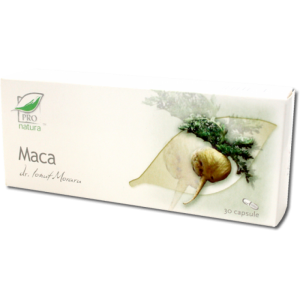 MACA, 30/60/150 capsule, Laboratoarele Medica
