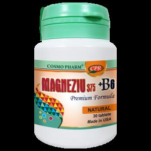MAGENZIU 375 + B6 PREMIUM FORMULA 30 tablete, Cosmo Pharm