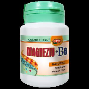 MAGNEZIU + B6 30 tablete, Cosmo Pharm