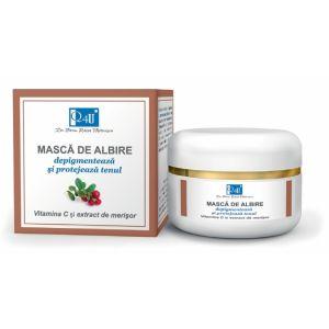 MASCA DE  ALBIRE SPF 10 - Q4U, 50 ml, Tis Farmaceutic