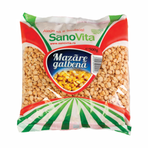 MAZARE GALBENA DECORTICATA, 500 g, SanoVita