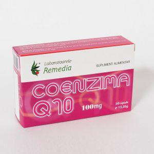 COENZIMA Q10 100 mg, Laboratoarele Remedia