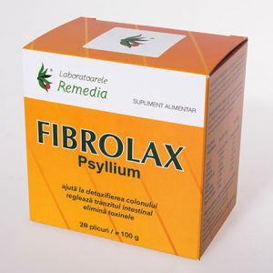 FIBROLAX - PSYLLIUM 20 plicuri, Laboratoarele Remedia