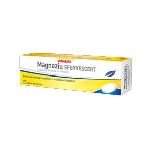 MAGNEZIU 20 tablete efervescente, Walmark