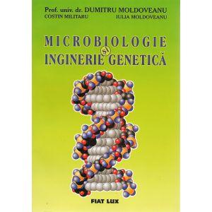 MICROBIOLOGIE ŞI INGINERIE GENETICĂ, 352 pagini, de Dumitru Moldoveanu