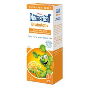 MINIMARTIENI BRAINACTIV (OMEGA 3) SIROP 150 ml, Walmark