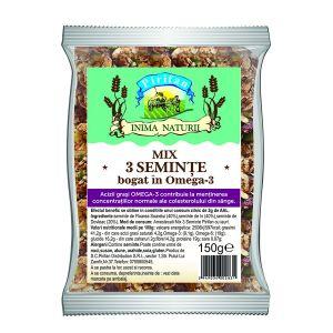 MIX DE 3 SEMINTE OMEGA 3 150 g, Pirifan